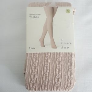 *FLASH SALE CC* NWT Cable Knit Sweater Tights